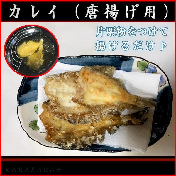 カレイ5枚(生魚)(唐揚げ用)下処理済み|karakaraboshi|02