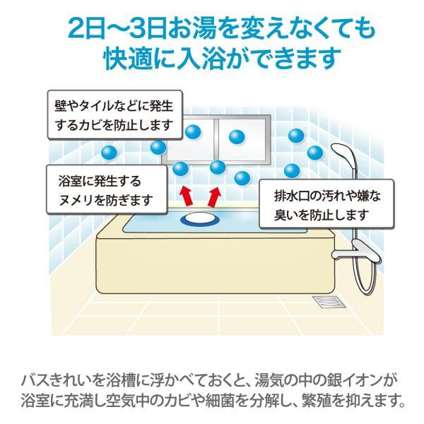 お風呂掃除グッズ バスきれい お風呂に入れるだけでカビ・細菌の繁殖を抑えます|karayasa|02