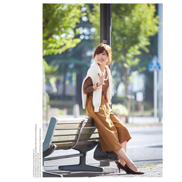 ガウチョパンツ ワイドパンツ 無地 スカンツ 秋冬 ガウチョ パンツ 送料無料 コーデ 30代 新作|karei-fuku|16