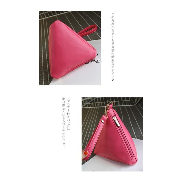 セール ミニバッグ 三角 ポーチ バック 携帯 レディースバッグ 送料無料|karei-fuku|02