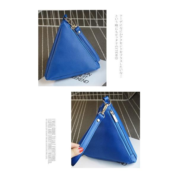 セール ミニバッグ 三角 ポーチ バック 携帯 レディースバッグ 送料無料|karei-fuku|05