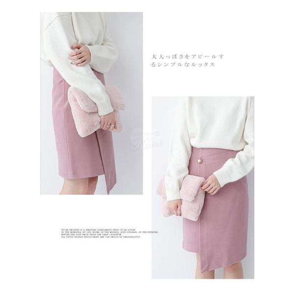 セール モコモコ ファークラッチバッグ 手持ちバッグ ハンドバッグ バッグ レディース 送料無料 karei-fuku 02