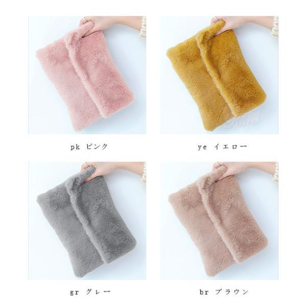 セール モコモコ ファークラッチバッグ 手持ちバッグ ハンドバッグ バッグ レディース 送料無料 karei-fuku 05