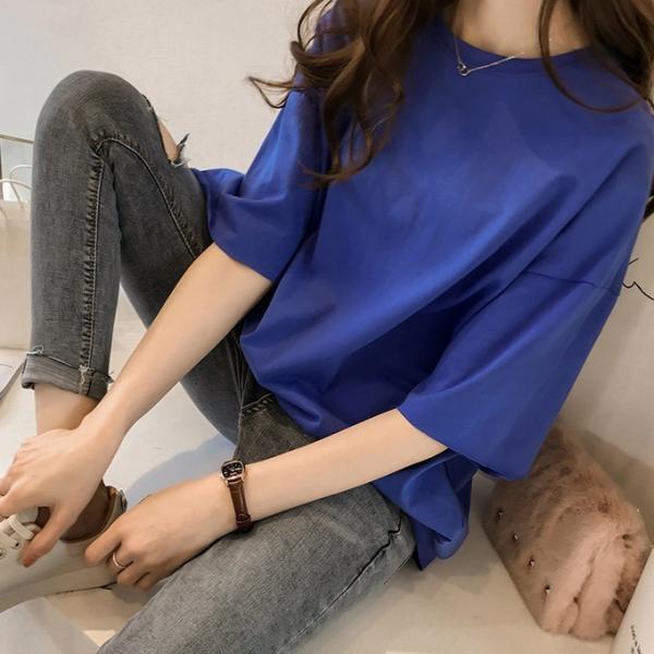 Tシャツ ビックTシャツ tシャツ 大きい ゆるい ビックサイズ シンプル 半袖 トップス 一部即納 karei-fuku 17