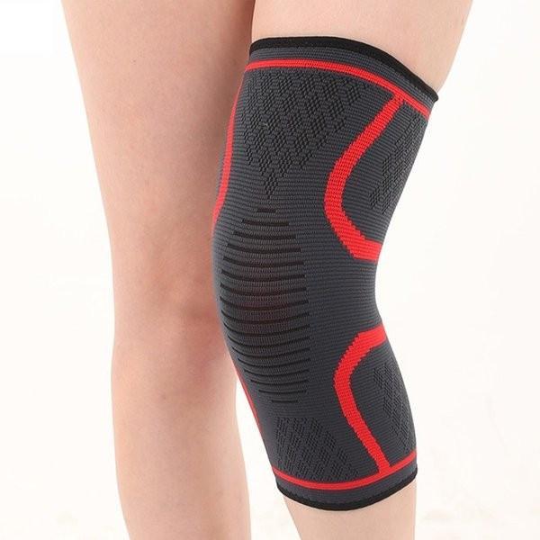 膝サポーター スポーツ 1枚だけ 薄手 バレーボール ランニング ジュニア 高齢者 大きいサイズ スポーツ用 関節痛 膝の痛み カーフスリーブ|karei-fuku|05
