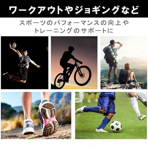 膝サポーター スポーツ 1枚だけ 薄手 バレーボール ランニング ジュニア 高齢者 大きいサイズ スポーツ用 関節痛 膝の痛み カーフスリーブ|karei-fuku|08