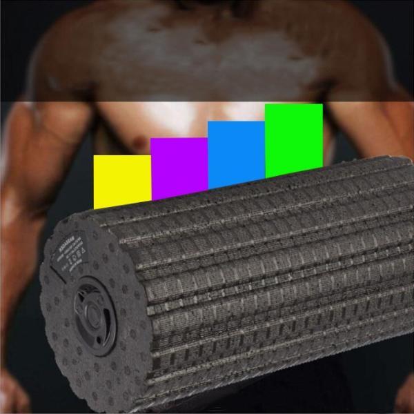 充電式ストレッチボール フィットネス強力 腹筋トレーニング器具 エクササイズ マッサージ フォームローラー スポーツ器具ダイエット|karei-fuku|04