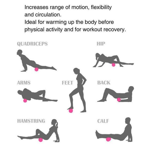 充電式ストレッチボール フィットネス強力 腹筋トレーニング器具 エクササイズ マッサージ フォームローラー スポーツ器具ダイエット|karei-fuku|10