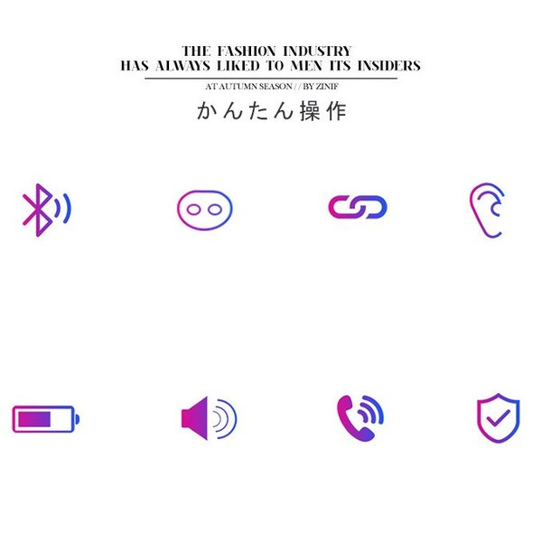Bluetooth ワイヤレスイヤホン 快適 Bluetooth 5.0 スタイリッシュ  活躍 便利 機能 多数 大容量 バッテリー 充電 ケース 4色 一部即納|karei-fuku|03