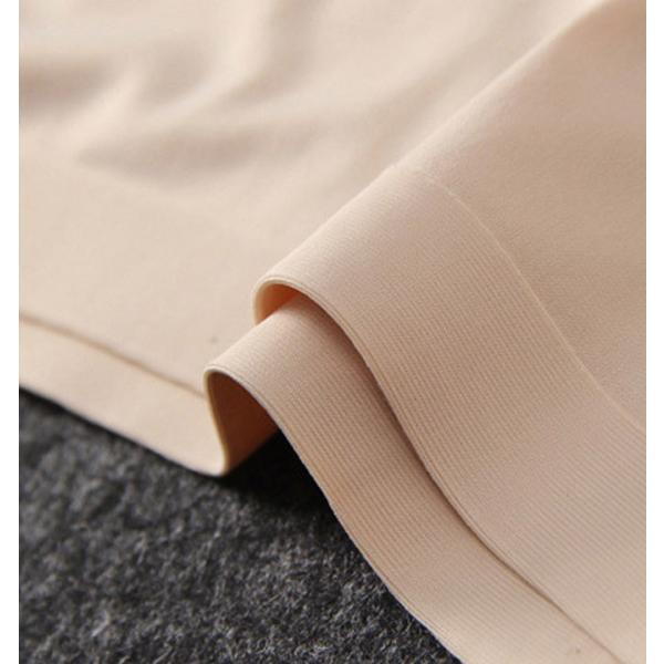 ショーツ パンツ 下着 シームレス レディース ノーマル 女性用 ストレッチ  コットン ホワイト ブラック ベージュ フィット感 ズレにくい 上品 インナー|karei|14