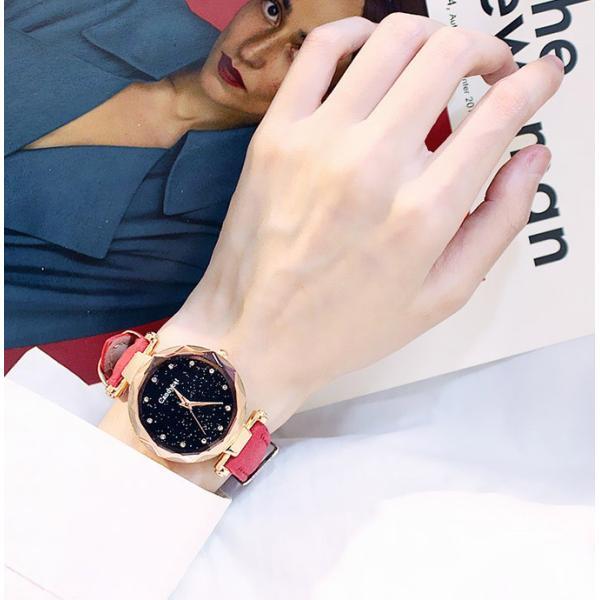 盤腕時計 ウォッチ watch 腕時計 ラメ入り文字盤 高級感 ゴールド キラキラ ゴルード 男女兼用 レディース|karei|11