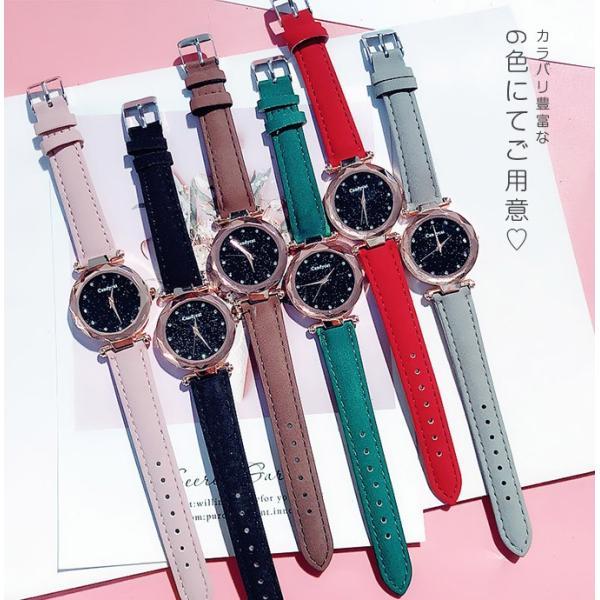 盤腕時計 ウォッチ watch 腕時計 ラメ入り文字盤 高級感 ゴールド キラキラ ゴルード 男女兼用 レディース|karei|13