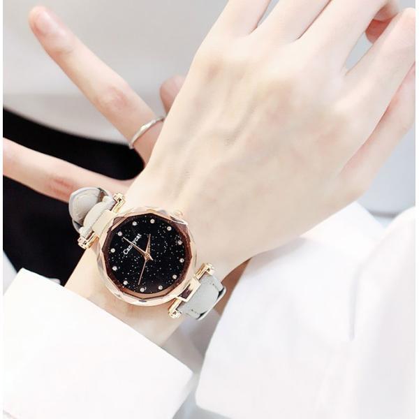 盤腕時計 ウォッチ watch 腕時計 ラメ入り文字盤 高級感 ゴールド キラキラ ゴルード 男女兼用 レディース|karei|05