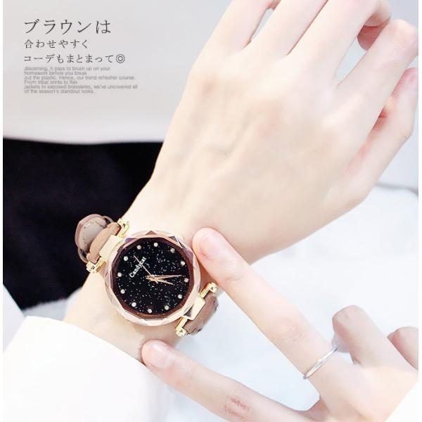 盤腕時計 ウォッチ watch 腕時計 ラメ入り文字盤 高級感 ゴールド キラキラ ゴルード 男女兼用 レディース|karei|06