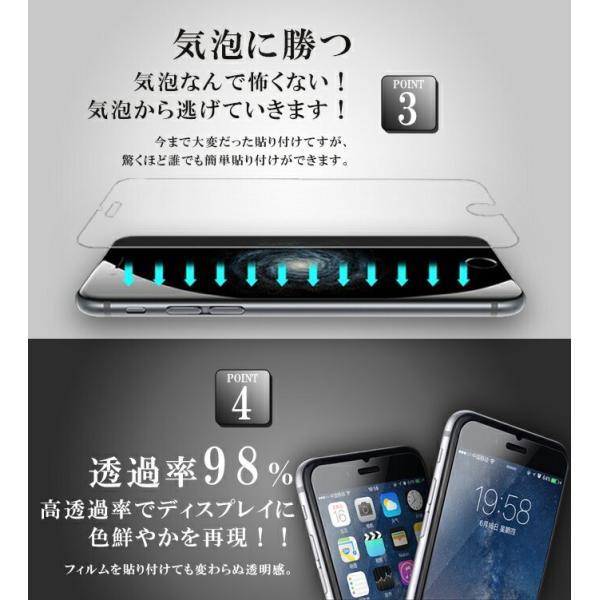 液晶保護フィルム 強化ガラスフィルム 強化ガラスiPhoneX iPhone8 iPhone7 iPhone7Plus iPhone6s Plus iPhone プレミアム会員 karei 03