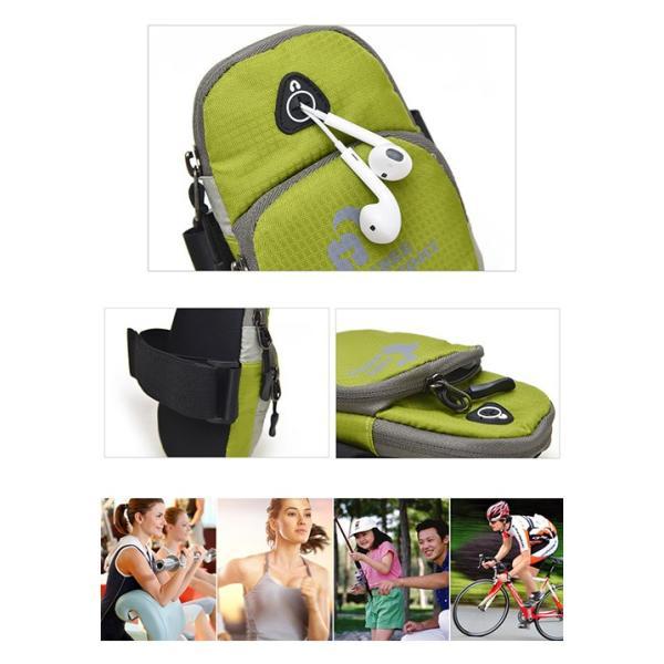 iPhone ポーチ  スポーツポーチ/アームバンド/スポーツケース/ボディバッグ/ジョギング/マラソン/ウォーキング/アウトドア/登山/ハイキング|karei|03