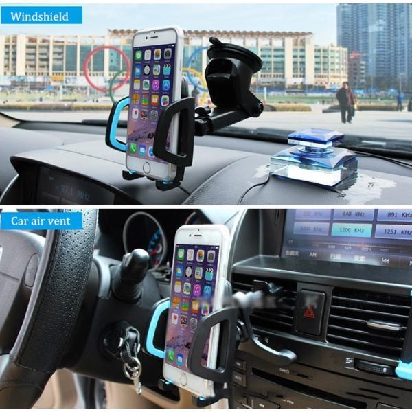 スマホホルダー 車 スマホスタンド スマホ ホルダー 携帯ホルダー iPhone11 iPhone11 Pro iPhone11 Pro Max iPhone iPhoneX HUAWEI各種機種対応|karei|09