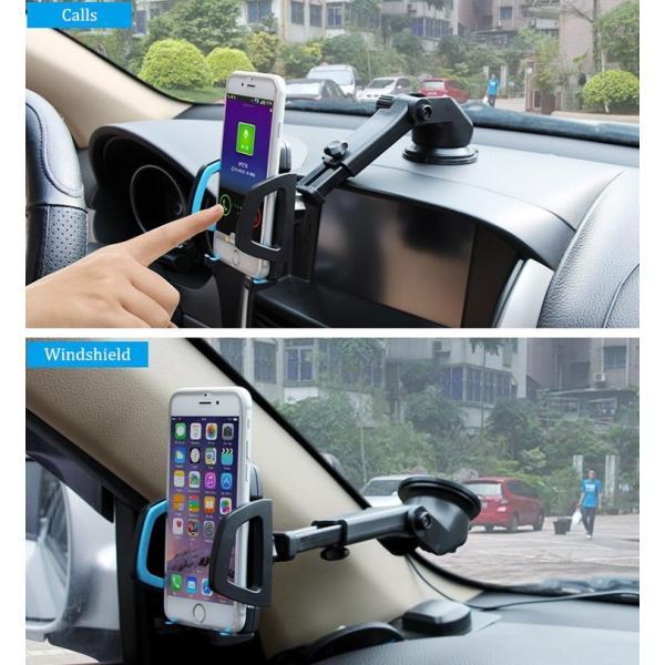 スマホホルダー 車 スマホスタンド スマホ ホルダー 携帯ホルダー iPhone11 iPhone11 Pro iPhone11 Pro Max iPhone iPhoneX HUAWEI各種機種対応|karei|10