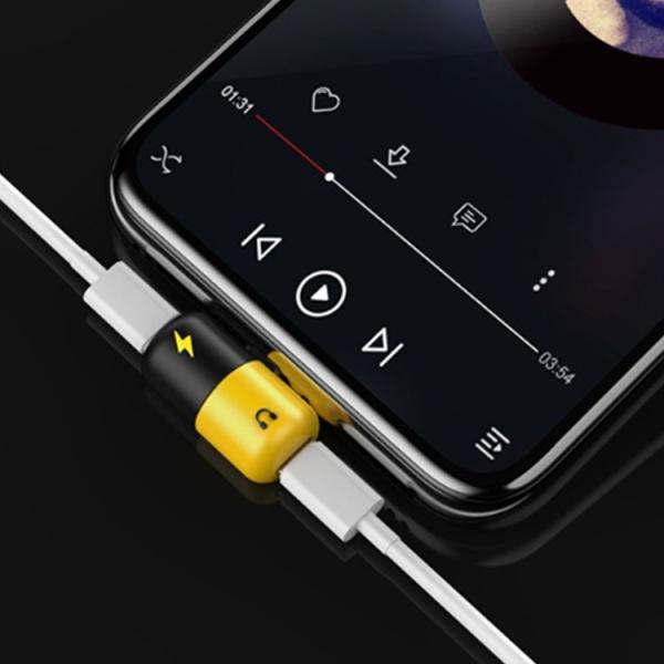 iPhoneX イヤホン変換ケーブルiPhone X iPhone 8/8 Plus充電ケーブル iPhone7/7 Plus イヤホン変換アダプタ ヘッドホン オーディオ ジャック インタフェース|karei|02