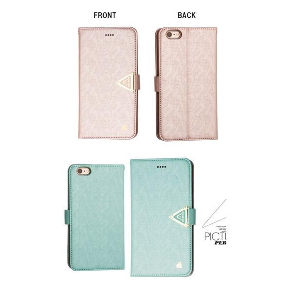 iPhone 6 iPhone 6s ケース アイフォン 全7色 手帳型 手帳 横 レザー カード収納 スタンド機能 カードホルダー ストラップ付き ストラップホール|karei|03