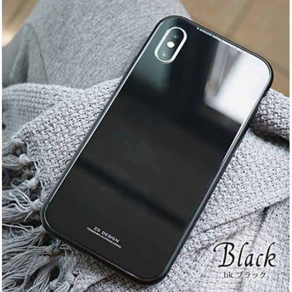 iPhone XS ケース シンプル マグネットケース ガラスケース アルミ iphoneケース おしゃれ アイフォン 大人 人気 ギフト メンズ レディース 携帯ケース karei 09