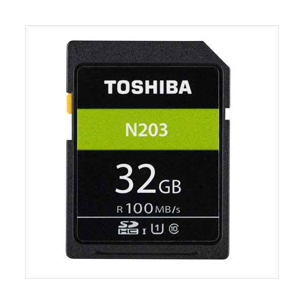 SDカード 32GB 100MB/s class10 東芝 [高速 大容量 カメラ用 記録用] ポイント消化|karei