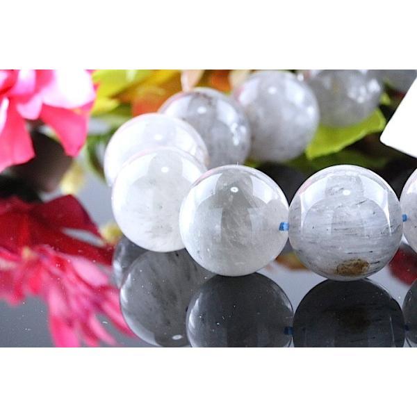 【送料無料】《珠径15mm 内径18cm 》エンジェルクォーツ ラビットヘアールチル パワーストーン天然石ブレスレット code3978|karen-ya|02