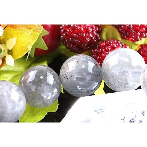 【送料無料】《珠径15mm 内径18cm 》エンジェルクォーツ ラビットヘアールチル パワーストーン天然石ブレスレット code3978|karen-ya|05