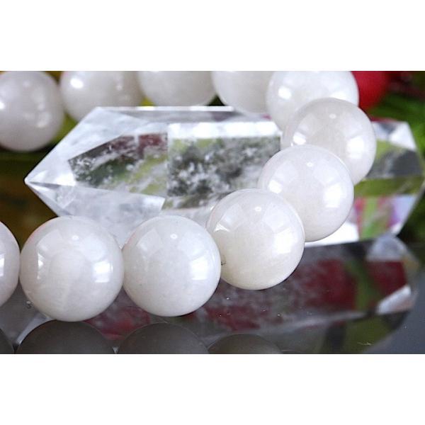 【送料無料】《珠径10mm 内径16.5cm》 ホワイトラビットヘアールチルクォーツ  パワーストーン天然石ブレスレット code4080|karen-ya|04