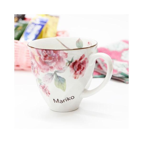 マグカップ タオル 名入れ 送料無料 プレゼント ギフト ばらぞの名入れマグカップ&タオル 母の日ギフト|karin-e|05