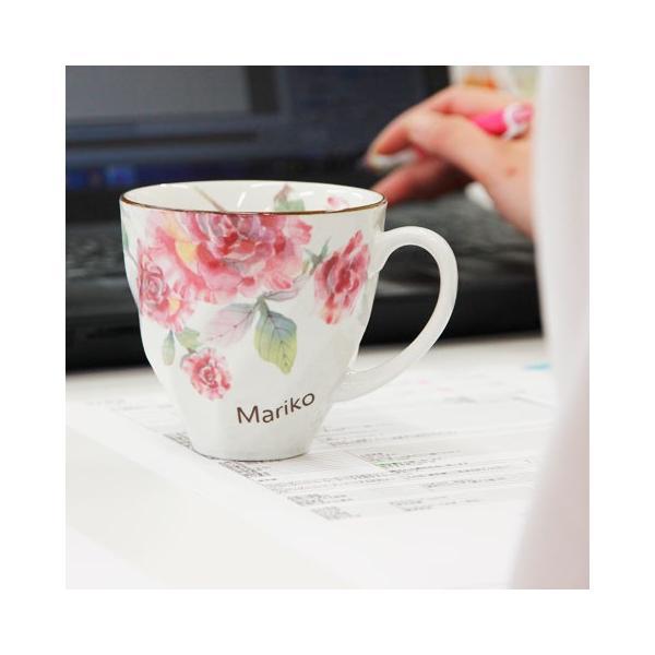 マグカップ タオル 名入れ 送料無料 プレゼント ギフト ばらぞの名入れマグカップ&タオル 母の日ギフト|karin-e|06