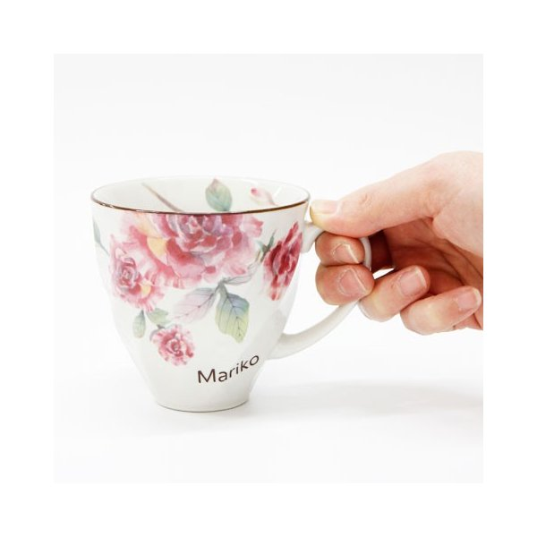マグカップ タオル 名入れ 送料無料 プレゼント ギフト ばらぞの名入れマグカップ&タオル 母の日ギフト|karin-e|10