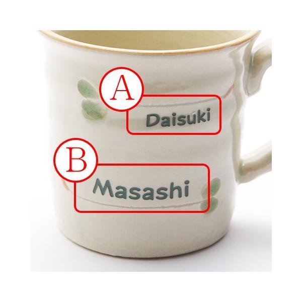 マグカップ 名入れ 送料無料 プレゼント ギフト 美濃焼 すずしろ ろくろ マグカップ|karin-e|04