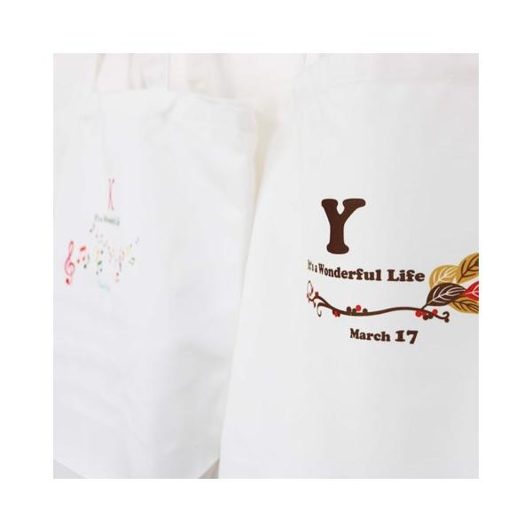 引き出物袋 バック トートバック オリジナル プリント 名入れ プレゼント 名入れプリント キャンバストートバック M karin-e 08