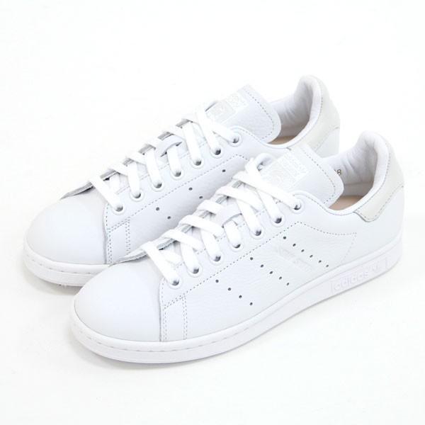 【メンズ・レディス】adidas ORIGINALS(アディダス オリジナルス)STAN SMITH(スタンスミス) CQ2198(FTWWHT/FTWWHT/FTWWHT)ロゴもホワイトでまとめたスニーカー