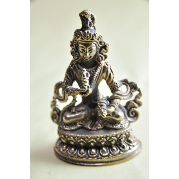 ヴァジュラサッタ 金剛薩た ミニメタル仏像 ネパールパタン製仏像【送料無料】
