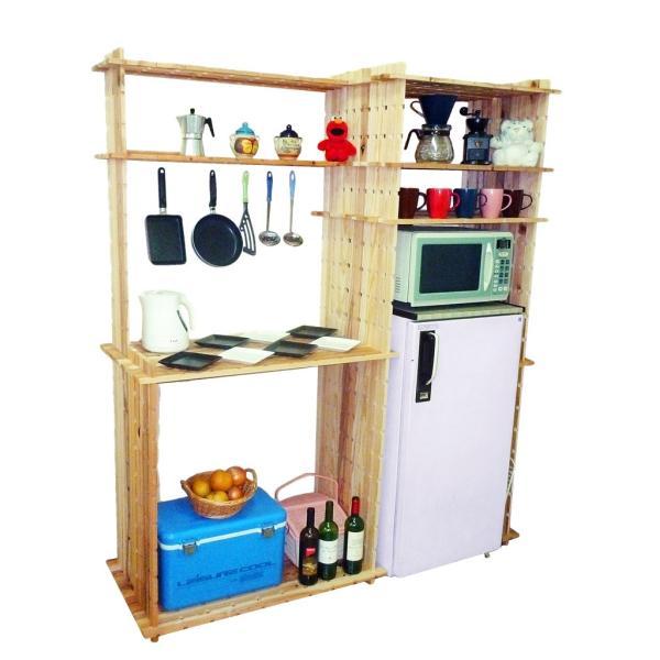 【木の組立家具・組手什kudeju】まるごと台所