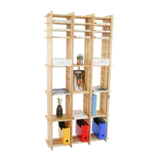 【木の組立家具・組手什kudeju】高機能書類棚|karooyaji