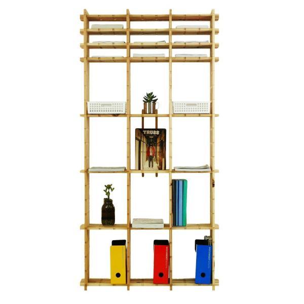 【木の組立家具・組手什kudeju】高機能書類棚|karooyaji|02