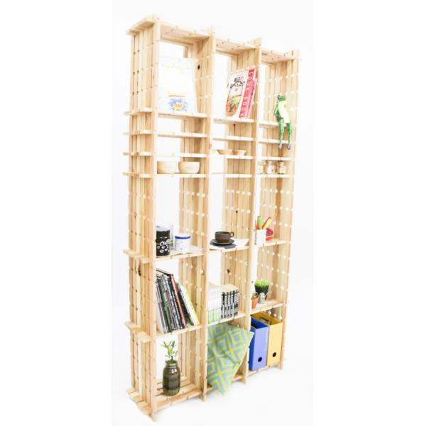 【木の組立家具・組手什kudeju】高機能書類棚|karooyaji|05