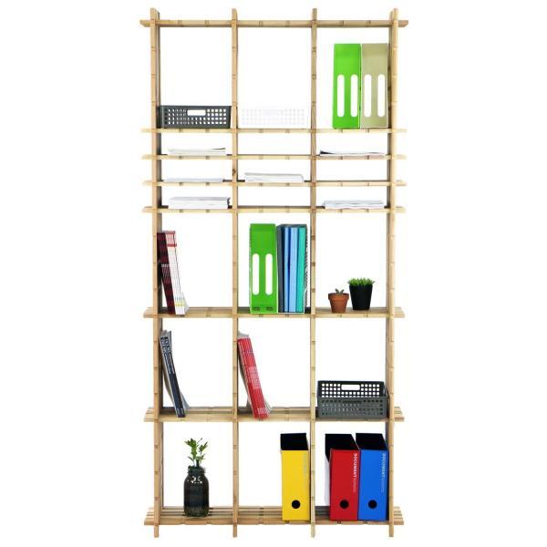 【木の組立家具・組手什kudeju】高機能書類棚|karooyaji|06