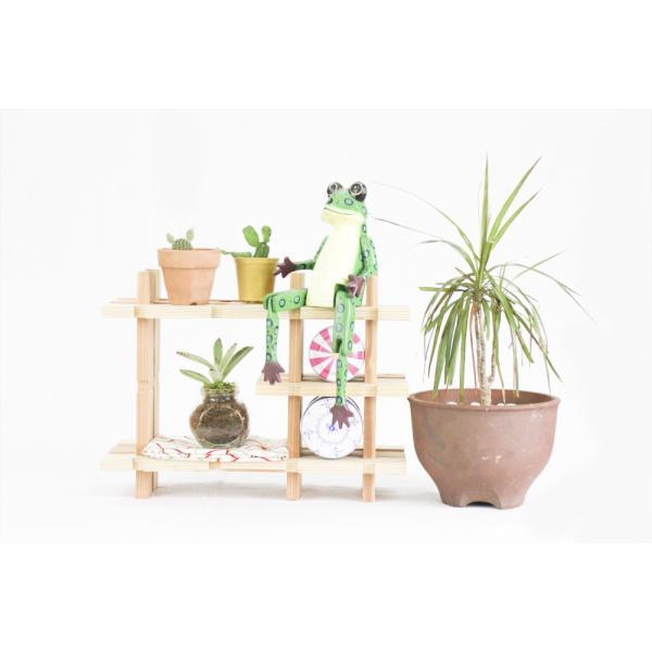 【木の組立家具・組手什kudeju】おもちゃ棚|karooyaji