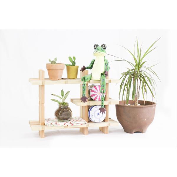 【木の組立家具・組手什kudeju】おもちゃ棚|karooyaji|03