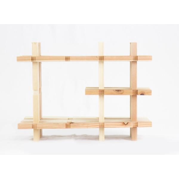 【木の組立家具・組手什kudeju】おもちゃ棚|karooyaji|04
