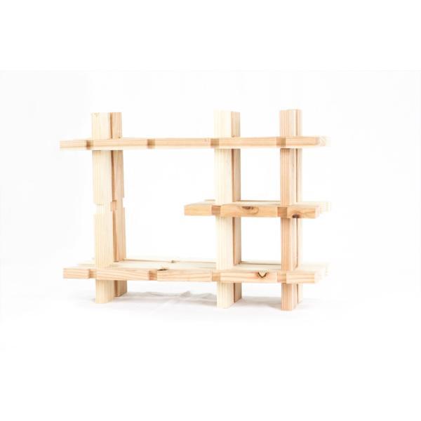 【木の組立家具・組手什kudeju】おもちゃ棚|karooyaji|05