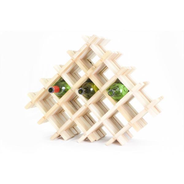 【木の組立家具・組手什kudeju】ワインラック|karooyaji|02