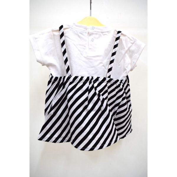 ユニカ unica キャミドッキングTシャツ オフ 100-130cm|kasaman|02