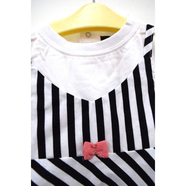 ユニカ unica キャミドッキングTシャツ オフ 100-130cm|kasaman|04