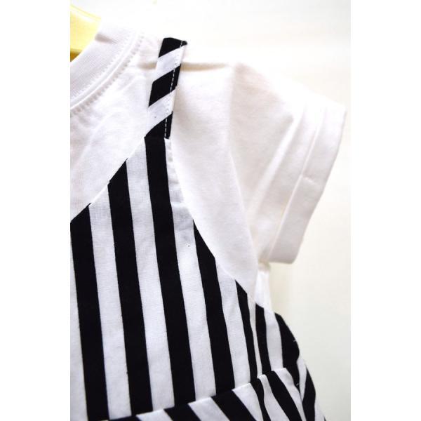 ユニカ unica キャミドッキングTシャツ オフ 100-130cm|kasaman|05