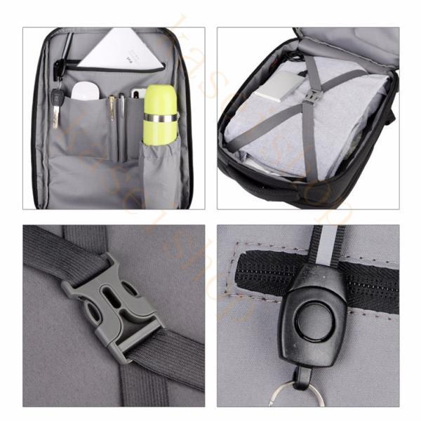 swisswin リュック ビジネスバッグ メンズ ビジネスリュックサック レディース 大容量 防水 登山 通学 旅行 通勤用 多機能 軽量 大きめ|kaseishop|11
